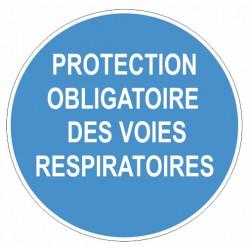Sticker obligation - Zone à consignes de securité particulières