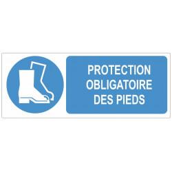 Sticker obligation - Protection obligatoire des pieds