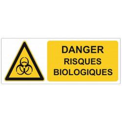 Sticker Danger risques biologiques