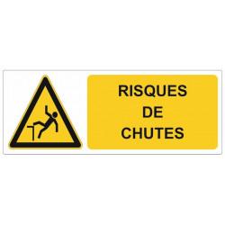 Sticker Risque de chutes