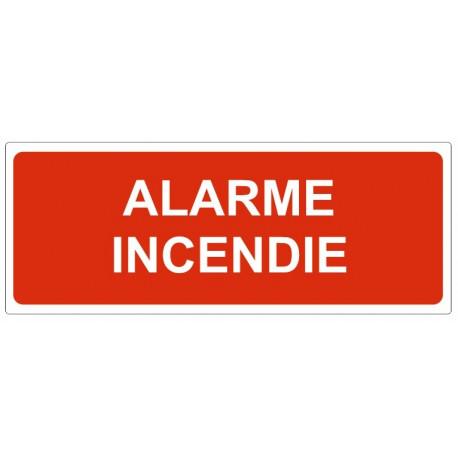 Sticker Alarme incendie