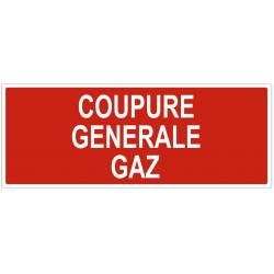 Sticker Coupure générale gaz