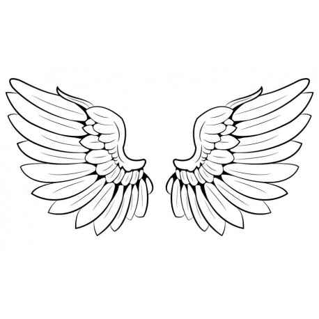 Sticker Ailes d'ange