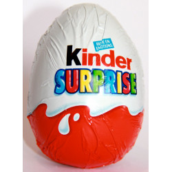 Sticker bonbon Kinder Surprise