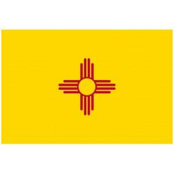 Sticker Drapeau Nouveau Mexique