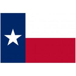 Sticker Drapeau Texas