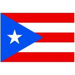 Sticker Drapeau Porto Rico