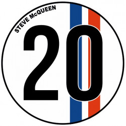 Sticker Steve Mc Queen N°20