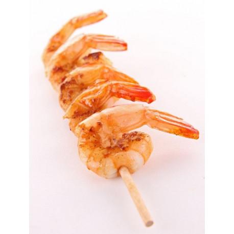 Sticker brochette de crevettes