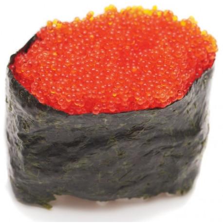 Sticker sushi oeuf rouge