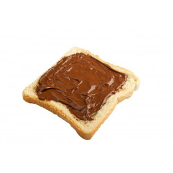 Sticker tartine de chocolat nutella