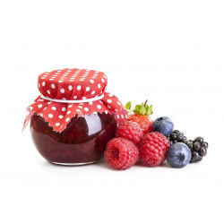 Sticker confiture de fruits