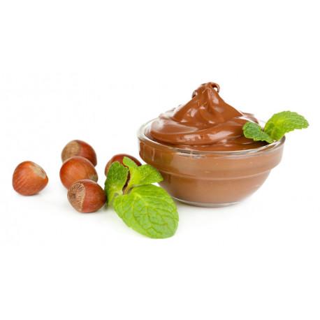 Sticker chocolat noisette