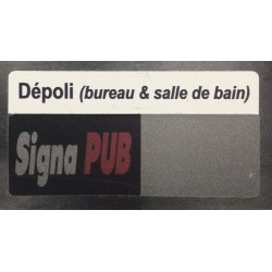 Sticker dépoli