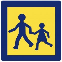 Autocollant Transport enfant (série)