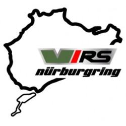 Sticker Skoda circuit Nurburgring