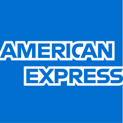 Sticker carte bancaire AMEX American Express