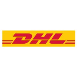 Sticker DHL world