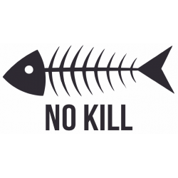 Sticker Poisson NO KILL
