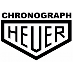 Sticker Chronograph HEUER (lettres seules)