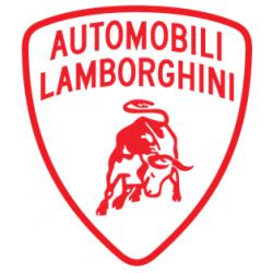 Sticker Lamborghini rouge