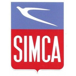 Sticker Simca blason