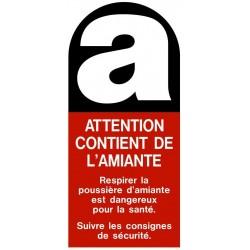Sticker Amiante