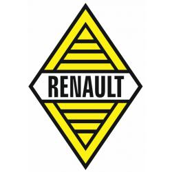 Sticker RENAULT LOSANGE Jaune