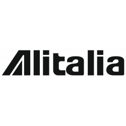 Sticker Alitalia noir