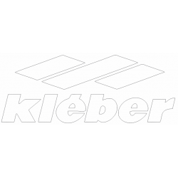 Sticker Kleber blanc