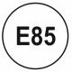 Sticker carburant E85 (à coller sur votre trappe super éthanol)