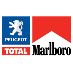 Sticker Marlboro Peugeot Total