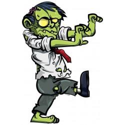 Sticker Zombie mort vivant globuleux