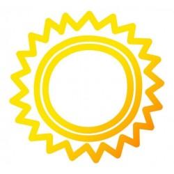 Sticker Soleil enfant graphique