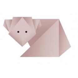 Sticker origami