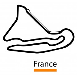 Sticker circuit plans france