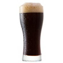 Sticker bière brune