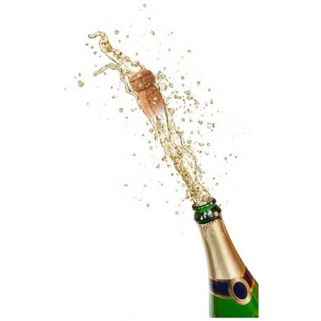 Sticker flûte de champagne