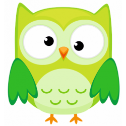 Sticker chouette hibou