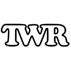 Sticker TWR noir et blanc