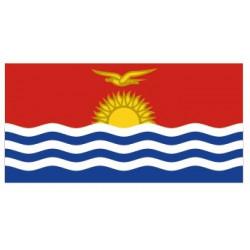 Sticker - Drapeau Kiribati REFG804