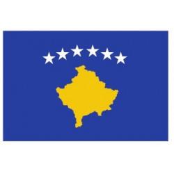 Sticker - Drapeau Kosovo REFG805