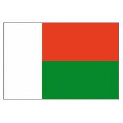 Sticker - Drapeau Madagascar REFG809