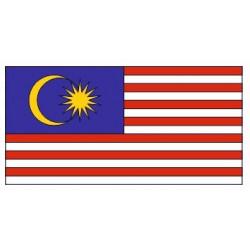 Sticker - Drapeau Malaisie REFG811