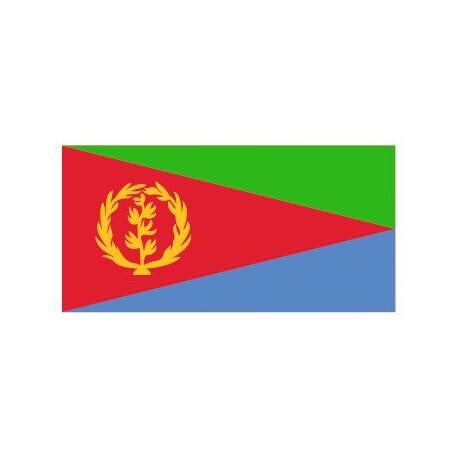 Sticker - Drapeau Eritrea REFG813