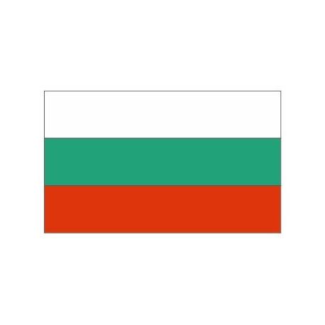 Sticker - Drapeau Bulgarie REFG822