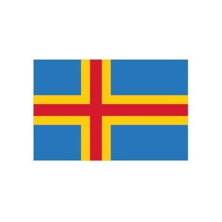 Sticker - Drapeau Aland Islands REFG839