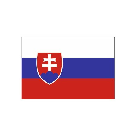 Sticker - Drapeau Slovakie REFG859