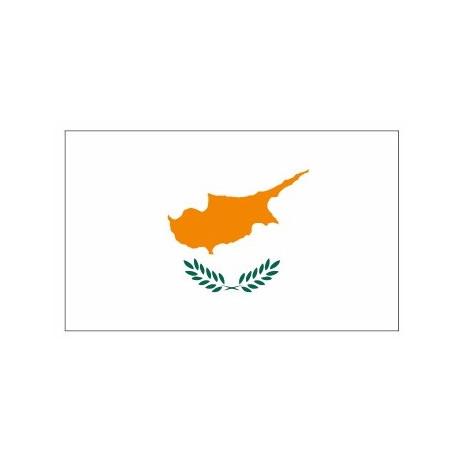 Sticker - Drapeau Chypre REFG881