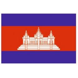 Sticker - Drapeau Cambodia REFG889
